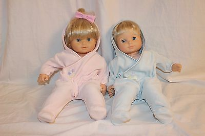Pleasant Company Bitty Baby Twins Retired 1st edition  Boy /Girl   American Girl