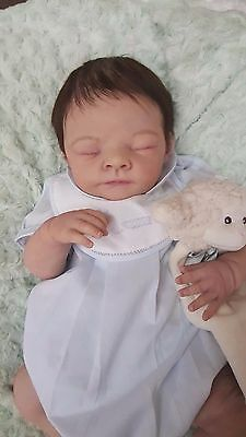 Silicone Baby Girl or Boy OLIVE by TINA KEWY Reborn doll ecoflex open mouth