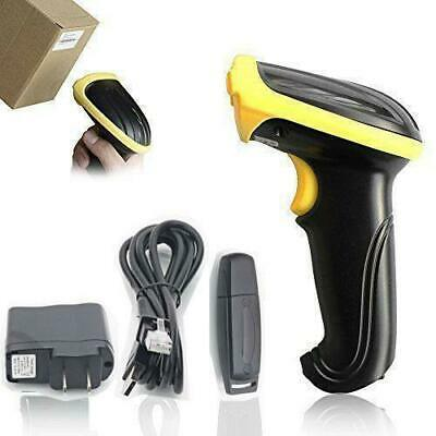2.4GHz USB WIFI Handheld Wireless Laser Cordless Barcode Scanner Scan Gun Reader