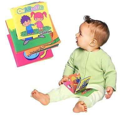 Intelligence development Soft Cloth Cognize Book Educational Toy for Kid Baby AD