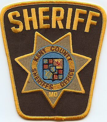 Kent County Maryland Md Sheriff Police Patch