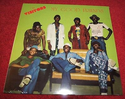 THE VISITORS My Good Friends PMG LP NEW& SEALED! African, Funk, Psychedelic