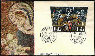 Malta 1967 Christmas FDC First Day Cover #C42638