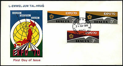 Malta 1970 Expo FDC First Day Cover #C42648