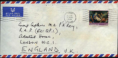 Malawi 1968 Commercial Air Mail Cover To UK #C42188
