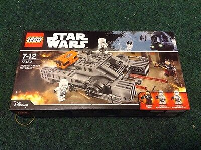 LEGO Star Wars Imperial Assault Hovertank Building Toy Box Set 75152 New Boxed