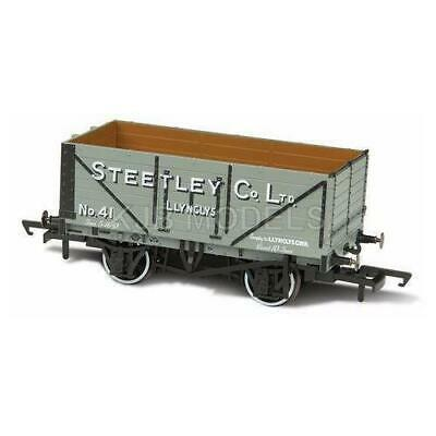 Bnib Oo Gauge Oxford Rail Or76Mw7024 7 Plank Mineral Wagon Steetley & Co Llyncly