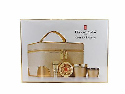 Elizabeth Arden Ceramide 4pc Set Day 50Ml+Night Cream 50Ml+Eye+Youth Capsules