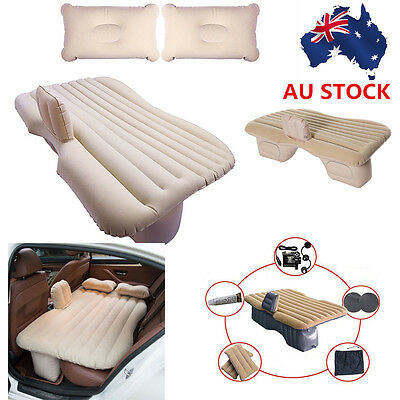 Car Air Bed Back Seat Air Inflatable Mattress Travel Bed Baby Protection Bump