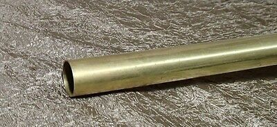 "BRASS ROUND PLAIN TUBING  7/8"" outside diameter SOLD BY the FOOT"