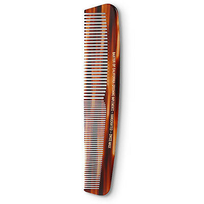 """Baxter Of California Large Comb Tortoise quality 7.75"""" Men's grooming *BNWT*"""