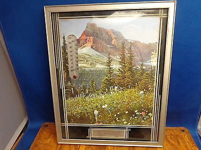 Thermometer Lewis Importing Company Mountain Scene