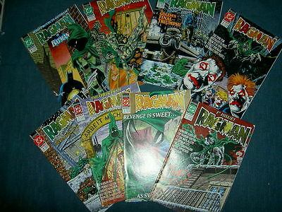 RAGMAN : COMPLETE 8 ISSUE DC 1991 SERIES by GIFFEN & BRODERICK. 1,2,3,4,5,6,7