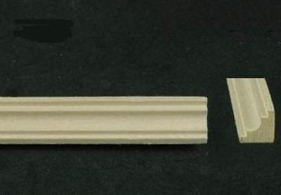 "Melody Jane Dolls House 1:24 Scale Wood Timber Small Coving 4 Lengths 18"" Long"