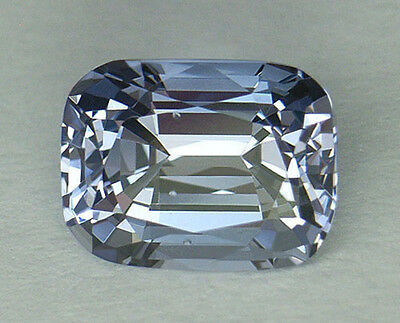 2.72Ct *certified Natural* Rare Sky Blue Color Custom Cushion Cut Ceylon Spinel