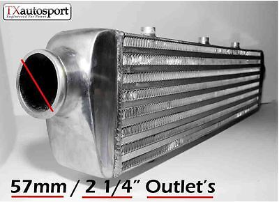 Universal FMIC Intercooler Tube Fin Design 690mm x 140mm x 65mm With 57mm Inlets