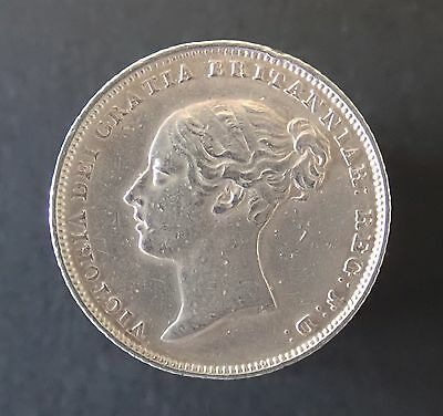 Victoria, silver sixpence, 1851, GVF