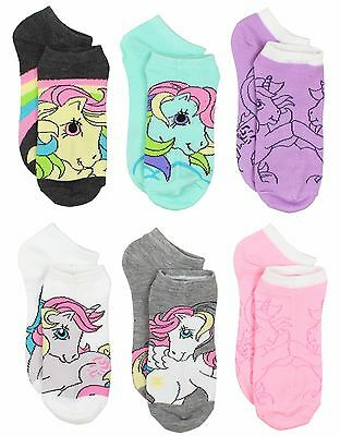 Classic My Little Pony Womens Queen 6 pack Socks (Teen/Adult) 7679MH