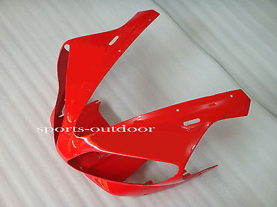 Front head nose Red Injection Mold fairings for 2000-2001 Yamaha YZF R1 1000