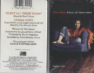 TORI AMOS  Silent all these years  Cassette  OVP sealed upside down