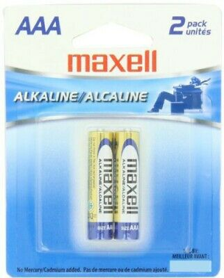 "Maxell ""Aaa"" Alkaline Battery-2Pk Blister(Lr03) - Accessories"