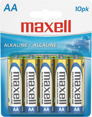 "Maxell ""Aa"" Alkaline Battery-10Pk Blister(Lr6) - Accessories"