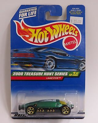Mattel HOTWHEELS 1:64 Diecast 2000 Treasure Hunt Series LAKESTER  #5/12