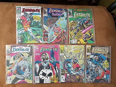 Marvel Comics Lot Of   Deathlok
