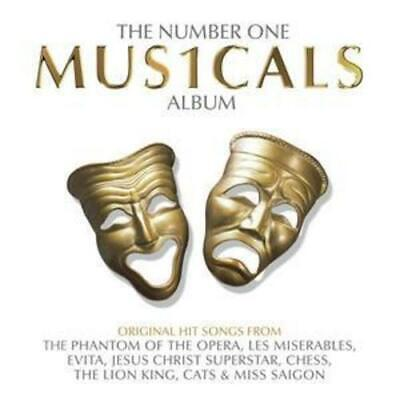Various Artists : The Number One Musicals Album CD (2005)