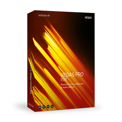 MAGIX VEGAS Pro 17 Edit Academic Download Video Software for Windows *New*