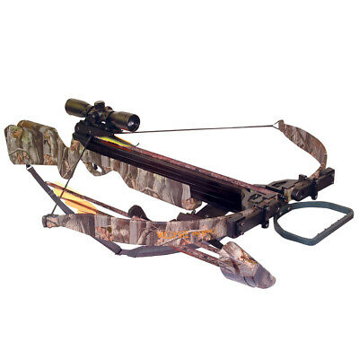 Arrow Precision Inferno Wildfire II Recurve Crossbow Package 4x32 Scope 345 FPS