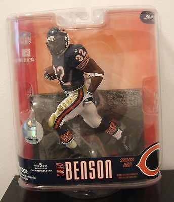 Mcfarlane Sports Picks Nfl Series 15 Chicago Bears Cedric Benson Action Figure