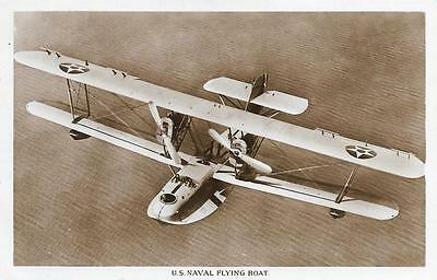 1928 US Navy PN-8 Flying Boat Used RP Aircraft Postcard