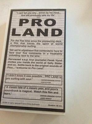 Surfing ~ Pro Land Kelly Slater  Vhs Pal Video~ A Rare Find