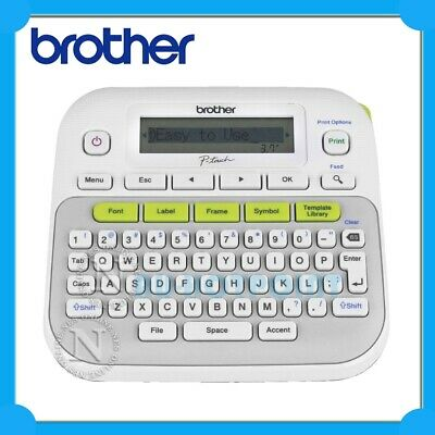 Brother P-Touch PT-D210 Label Printer Thermal Desktop Labeller 3.5mm-12mm