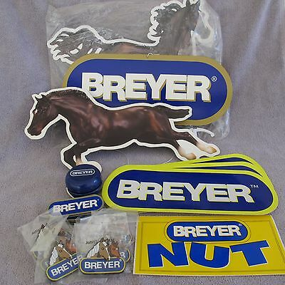 Breyer Horse Party Promotional advertising Items Mobile magnets stickers yoyo