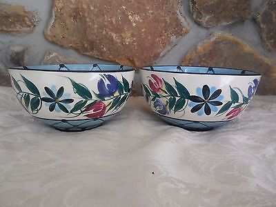 Two Gail Pittman Annabella Soup Cereal Or Small Vegetable Bowl Never Used