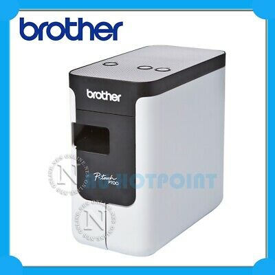 Brother PT-P700 P-Touch Desktop Thermal PC Connectable Labeller+Auto Cutter