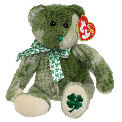 ce4a83878ca Ty Beanie Baby McWooly St. Patrick s Irish Clover Bear Mint Collectors  Quality
