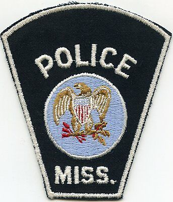 "VERY old vintage ""GENERIC"" MISSISSIPPI MS POLICE PATCH"