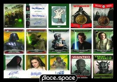 Star Wars 2015 Chrome Perspectives T/c Box