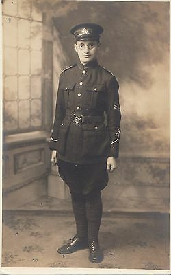 Canadian army sargeant real photo pc by institut franco - Comptoire d electricite franco belge ...