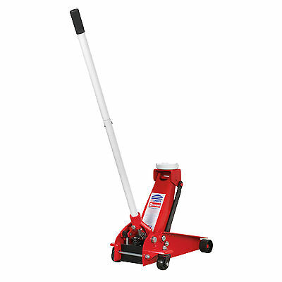 Sealey 3290CX 3 Tonne Trolley Jack - Lightweight (only 28kg)