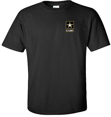 t shirt Clothes, Shoes & Accessories US Army Crest Adult's T-shirt Army Star logo on left chest