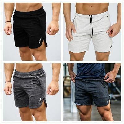 Men Gym Bodybuilding Running Training Fitness Shorts Workout Sports Hot Pants PY
