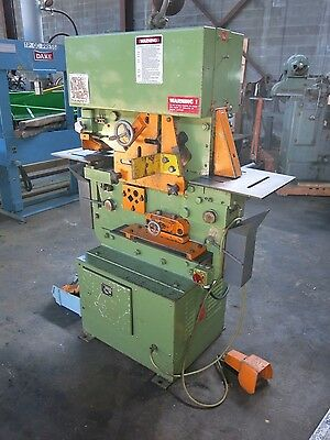 Peddinghaus Model 880 Hydraulic Ironworker 230/460 3 phase 88 Ton Compact