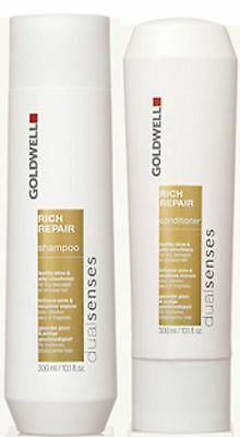 Goldwell Dualsenses Rich Repair Shampoo And Conditioner Duo 300 Ml