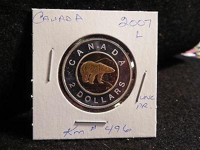 Canada : 2007   2 Dollars    Elizabeth Ii  Coin  Proof (#5) Km#496