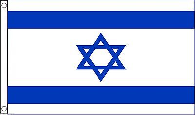 Israel 5'x3' HEAVY-DUTY NYLON Flag