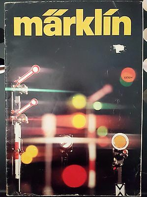 Marklin Vintage 1976 Magazine Catalogue Model Train Locomotive Carriage German